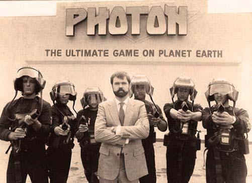 Фотон - це прототип нинішнього лазертаг